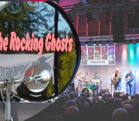 Musikweekend med The Rocking Ghosts & Tamborine Men for 2 - Spar 10%